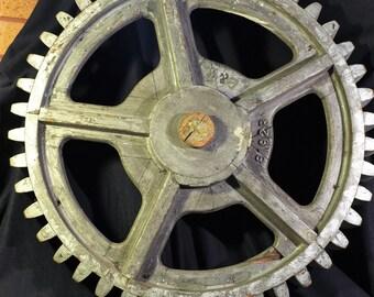 Foundry pattern gear wheel