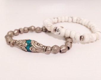 Nepalese Beaded Bracelet Set