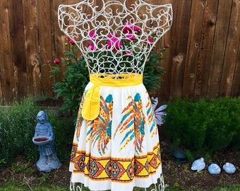 Latin American Rooster Half Apron