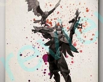 Quinn League of Legends Poster