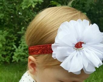 Santa hat Christmas  headband