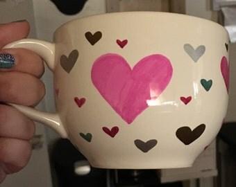 I wear my Heart on my Mug