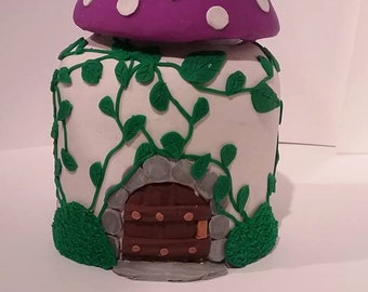 Fairy House Jar