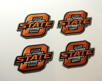 Oklahoma State Cowboys embroidered iron on patch *choose your own quantity* OSU