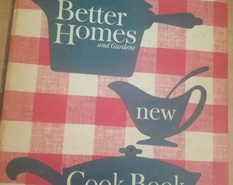 Better Homes and Gardens New Cookbook 1953/1965
