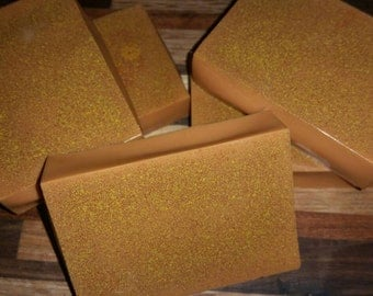 Organic milk and honey almond bar soap