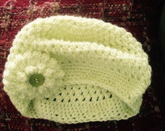 Womens slight slouch hat  ready to ship