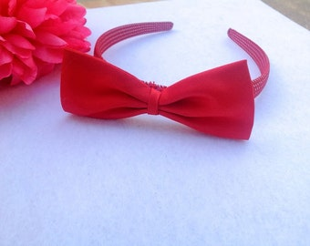 Disney Princess Snow White Headband Red Bow
