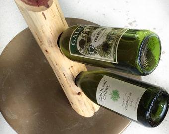 Floating (cedar) wine rack