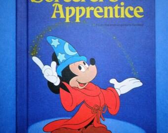 Vintage 1973 Walt Disney's The Sorcerer's Apprentice HB Book