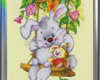 """LanSvit CROSS-STITCH KIT """"Sunny  Bunny"""" (D-007)"""