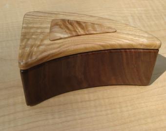 handmade wood keepsake box