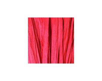 Raffia red Matt - artificial raffia - 10gr - raffia Ribbon - raffia thread