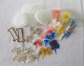 Vintage | Cake Decorations