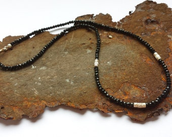 Spinel necklace with 925 Silver items