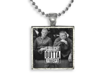 Vikings Bjorn Ragnar Fandom Jewelry Necklace Pendant Kattegat Viking Warrior Fangirl Fanboy