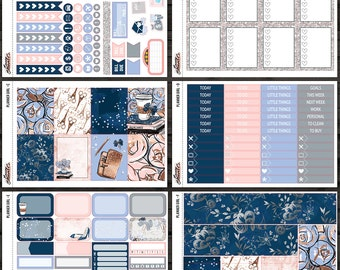 Planner Girl Individual Weekly Kit Sheets | for use with Erin Condren Lifeplanner™, Happy Planner