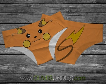 Raichu Pokemon Panties