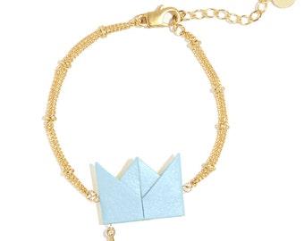 Bracelet - Drama Queen - pastel blue