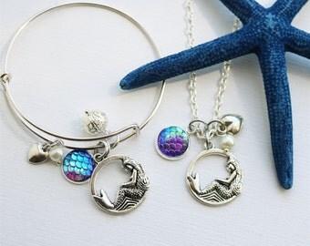 Mermaid Love Necklace