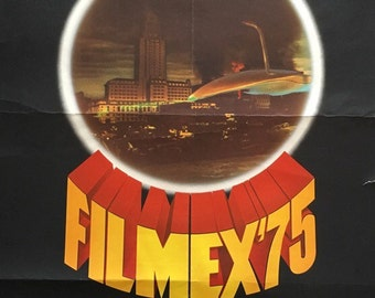 FILMEX '75 23x36 original film festival poster