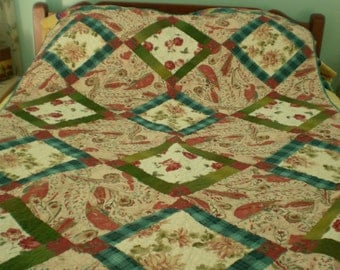 On Point Lap Quilt