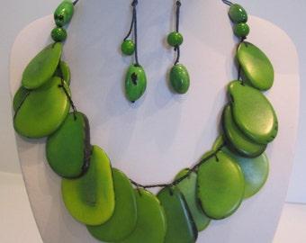Tagua Sensation Handmade Necklace