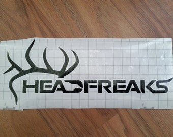 Head Freaks truck decal