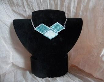 Necklace chain and diamond trio