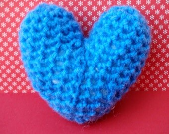 Crochet hearts made to order