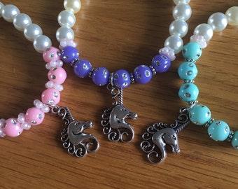 Coloured Unicorn Bracelet