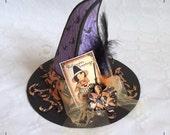 Spooky Halloween - Hexenhut, Box, Geschenkverpackung, Partydekoration, Unikat