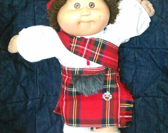 Highland Cabbage Patch Doll!