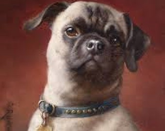 Have Your Pet Drawn Into A  Digital Oil Painting