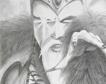 fantasy art wizard