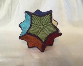 Geometric rattle ball