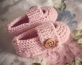 Cashmere Baby Shoes