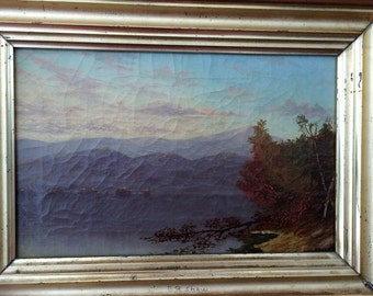 Hudson River School Painting, Hudson Valley Painting,