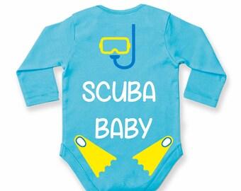 Scuba Baby Bodysuit