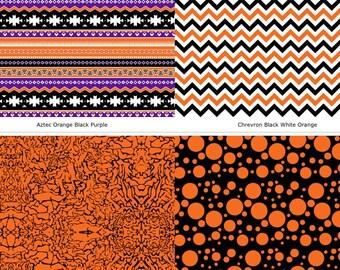 "12""x 18""  Fall Patterns Printed Vinyl Sheets"