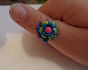Resizable Polymer Clay Ring