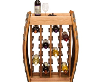 1011  24 Bottle Narrow Wall Wine Rack