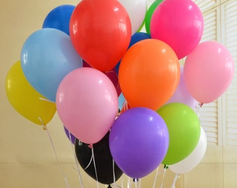 100 PC 12 Inch Latex Balloons Globos Party Air Balloons Birthday Decoration Ballons Pink Purple Party Wedding Decoration 2.8g
