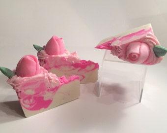 Rose Soap Cake