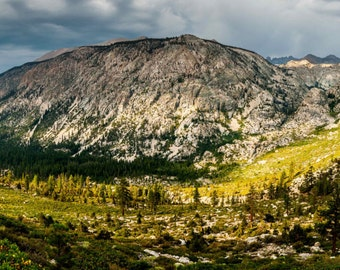 Kern Valley of the Sierra Print