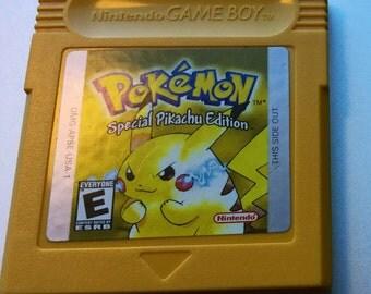 Pokemon Yellow for Gameboy