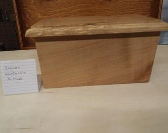 Handmade Maple Keepsake Box