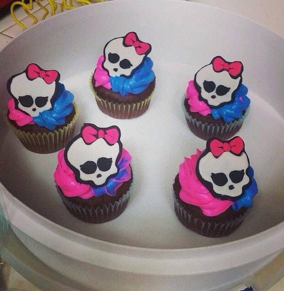 Monster High Fondant Cake Toppers