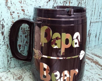 Papa Bear 16 oz Coffee Mug