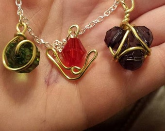 Legend of Zelda Spiritual Stone Necklace